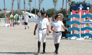 Oliva, Spain - 2018 October 4: Silver tour 1m25 during CSI Mediterranean Equestrian Autumn Tour I